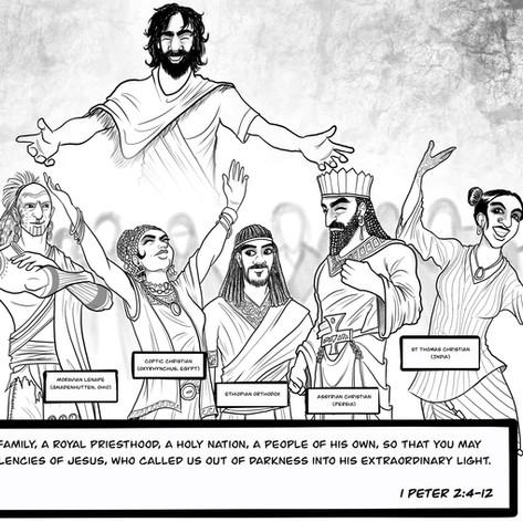1 Peter 2:4-12 - Chosen Family