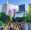 Jovens Brasileiros no Central Park