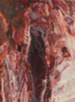 Porcine Crinoline, oil on canvas, 36 x 26 in., 2014  Private collection