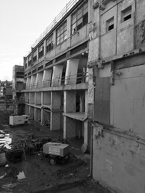 Poplar Baths Demolition D