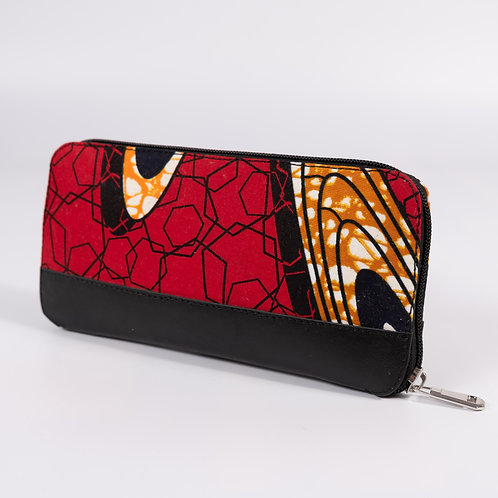 Wepia Wax Wallet - red