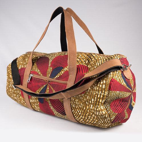 Madame Dakar Weekend Bag - African Wax Print