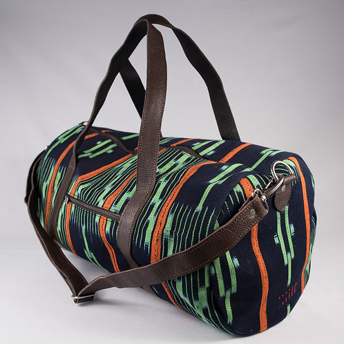 Madame Dakar Weekend Bag - Baoule - black/green/orange