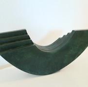 Schichtung,Bronze 2021,20x46,5x7,2 cm