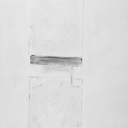 2001 70 x 100 cm Graphit in Acryl