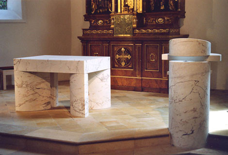 Altar & Ambo