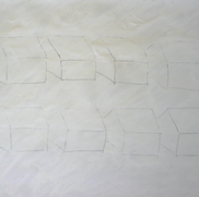 2003 70 x 100 cm Graphit in Acryl