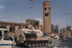 دبابة أمريكية في الأعظمية