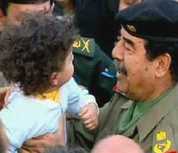 SaddamKissesBaby
