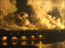 قصف بغداد