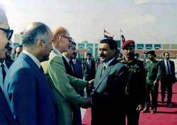 مع علي عبد الله صالح
