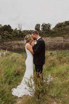 Soft Romanic Bridal bun for this beautiful bride