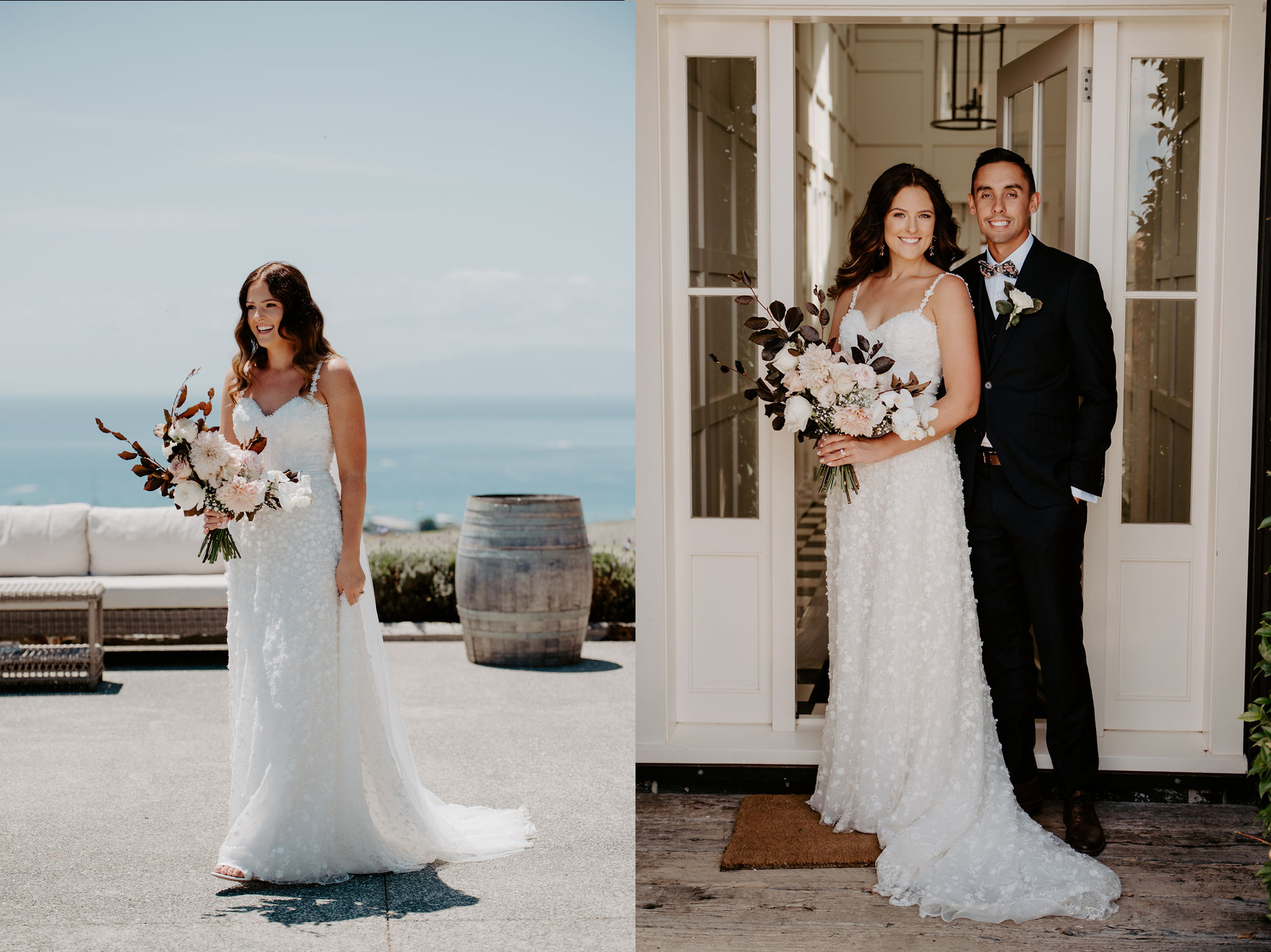 Award Winning Bridal Hair Stylist, Waiheke Wedding , Waiheke hairandmakeup, Mudbrick bride