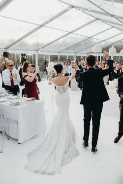 Photograghy: Jesse and Jessie Weddings  Dress Trish Peng   Florals: Blush
