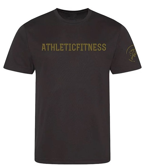 Performance Tee - Black and Gold