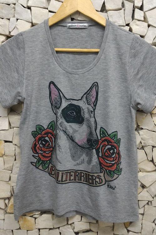 Camiseta Pet Art Crew Tattoo Brilhos By Fábio Polesi
