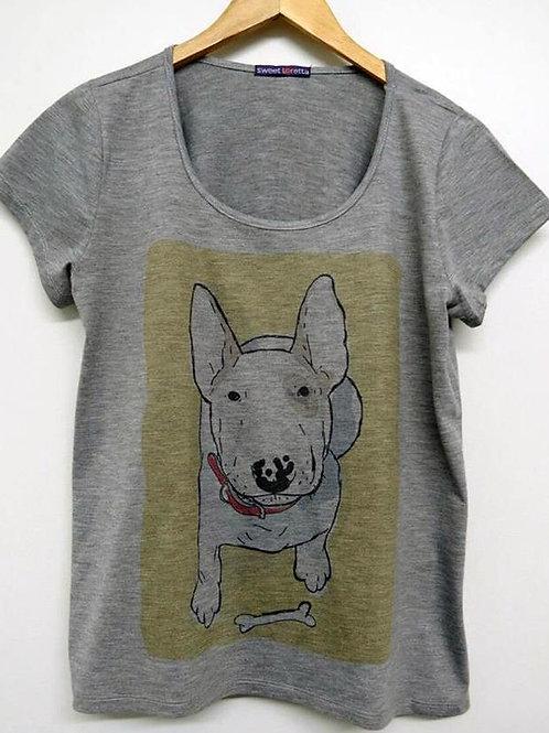 Camiseta Bull Coleira (Mescla)