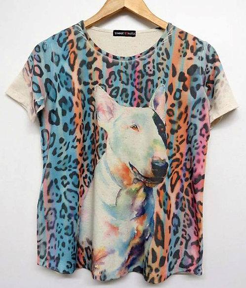 Camiseta Bull Animal Print