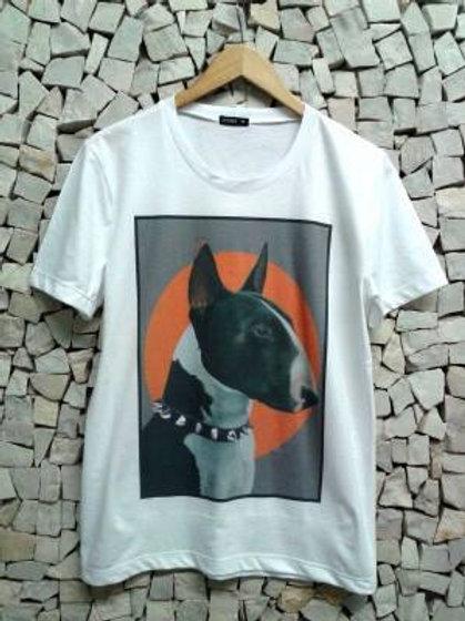 Camiseta Masculina Sol Bull Terrier