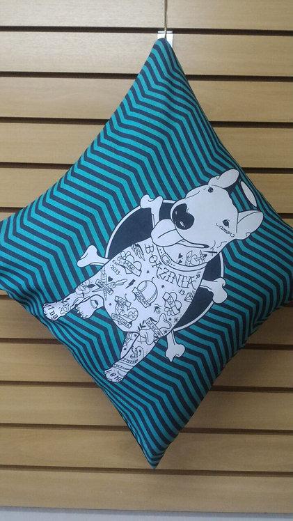 Capa de almofada Bull Terrier Ricota