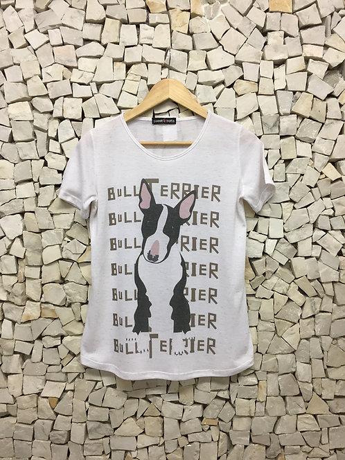 Camiseta Bull Terrier P/B