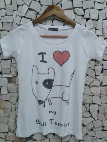 Camiseta I  Love My Bull