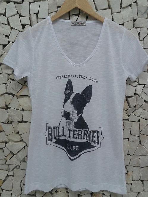 Camiseta Bull Terrier Life