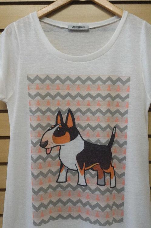 Camiseta Bull Tricolor