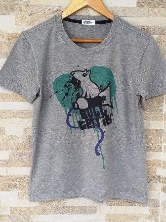 Camiseta Grafite Bull