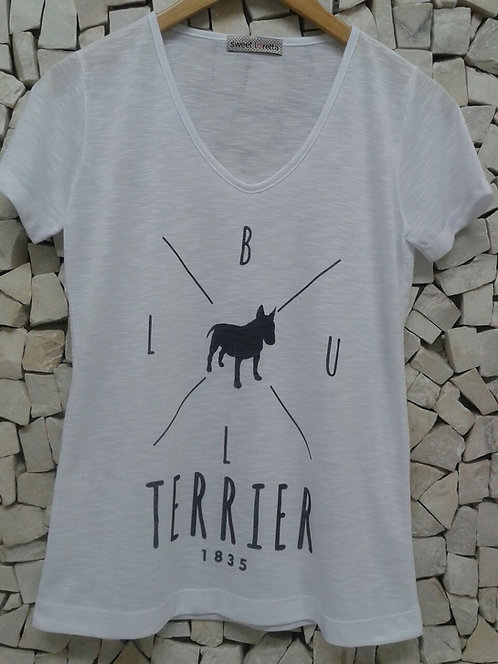 Camiseta Bull Terrier 1835
