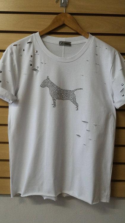 Camiseta  Bull Terrier Tachas