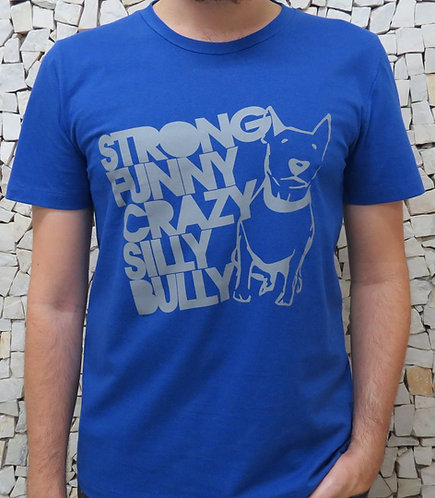 T-Shirt Masculina Ricota(Azul)
