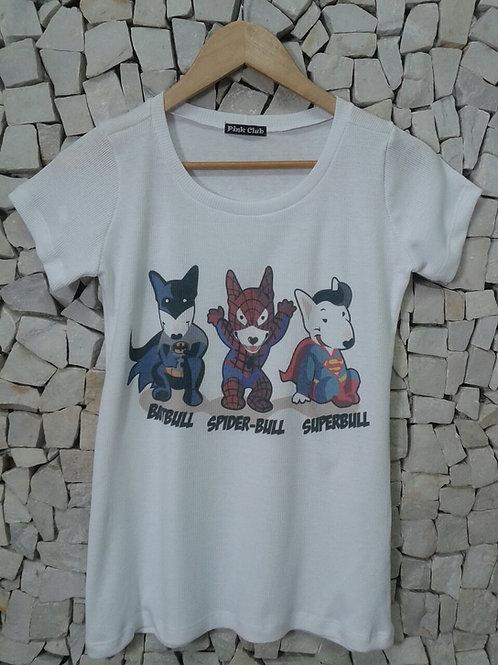 Camiseta Bull Heróis