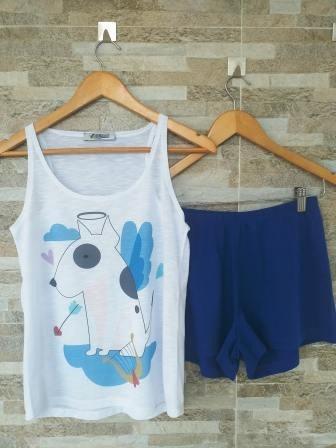 Pijama Bull Arpa Azul