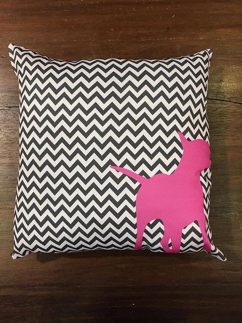 Capa de Almofada Grafismos Pink