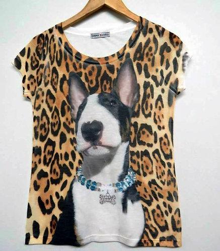 Camiseta Bull Terrier 0nças