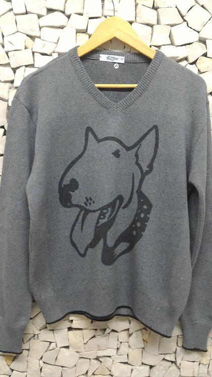 Tricot Masculino  Bull Terrier Bull Coleira
