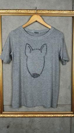 Camiseta Bull Terrier Cristais