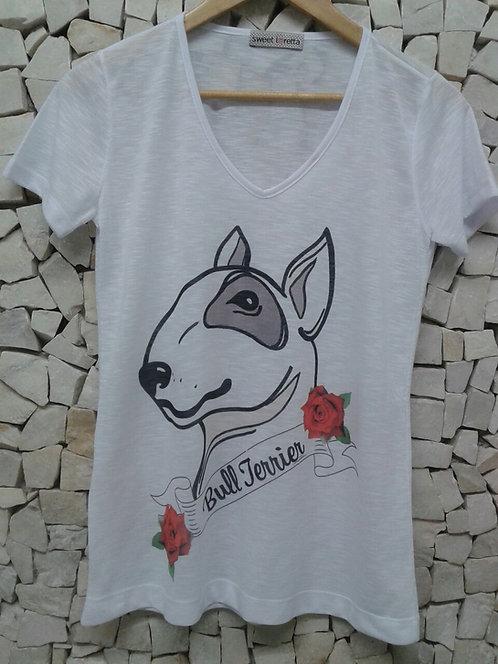 Camiseta Bull Flores
