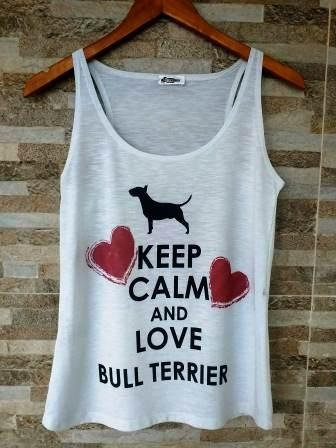 Regata Keep Calm Bull terrier