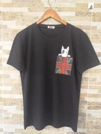 Camiseta Bull Bolso Bandeira