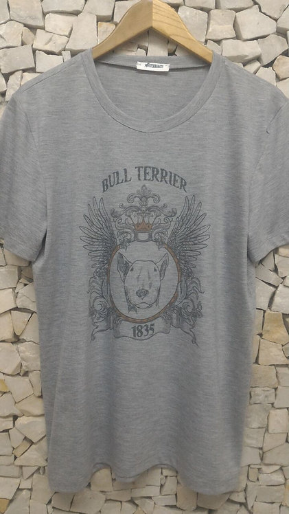 Camiseta Brasão mescla