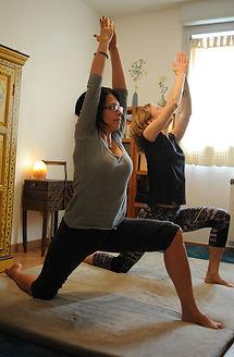Étirements des quadriceps, du psoas-iliaque et du dos