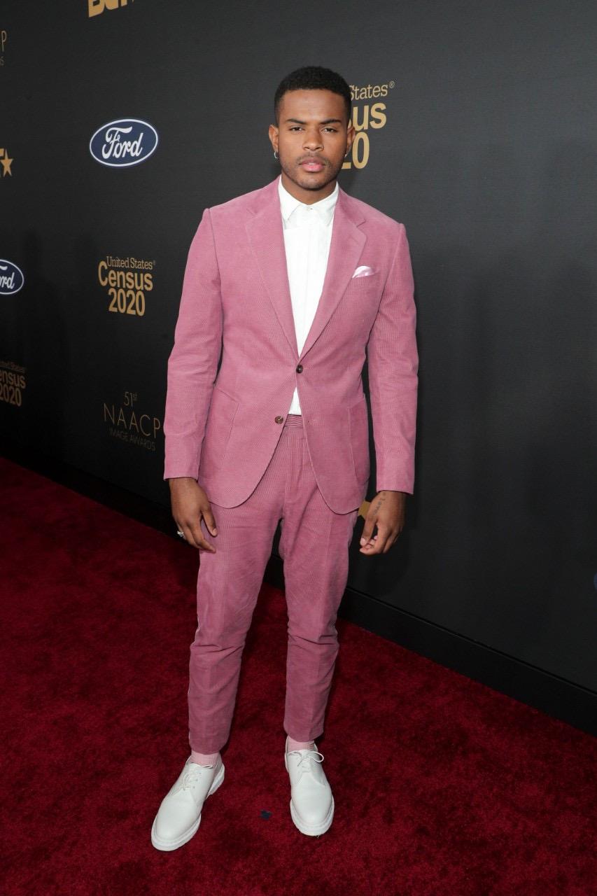 Trevor Jackson x NAACP awards