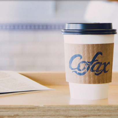 EAT YOUR HEART OUT: Cofax Coffee