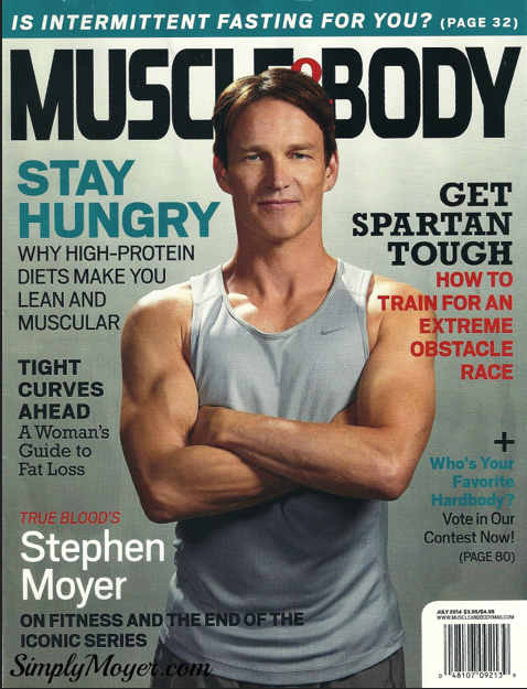 Stephen Moyer - Muscle and Body