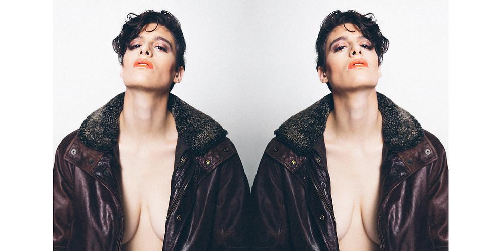 Rain Dove model gender fluid human rights activist