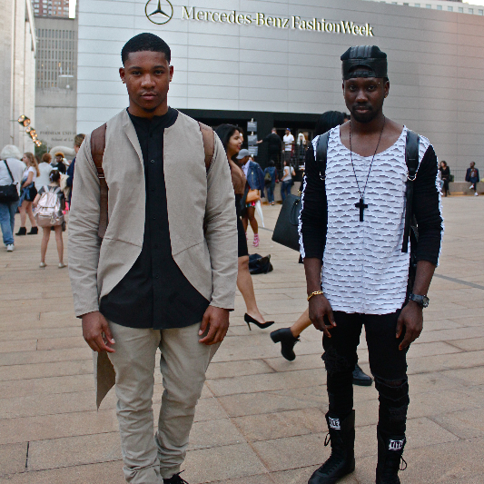 BEHIND THE SEAMS: Designers Lord Burchen & Hasani Din