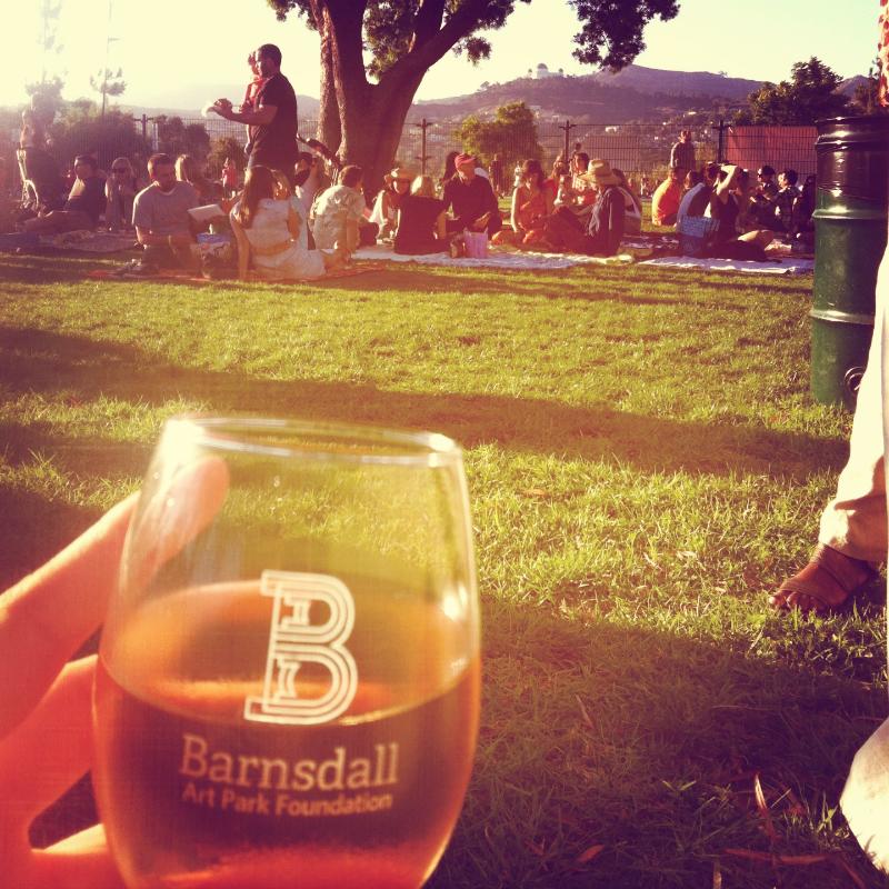 barnsdall art park wine tasing