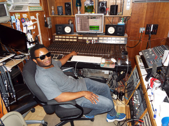 BACKSTAGE: Singer-Songwriter Blessing Offor